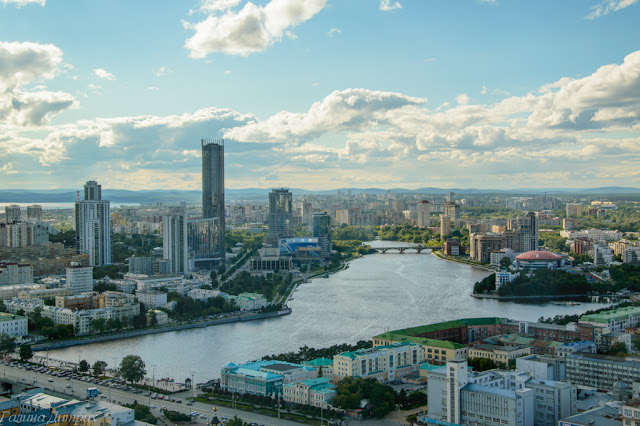 Вид со смотровой площадки Екатеринбург фото