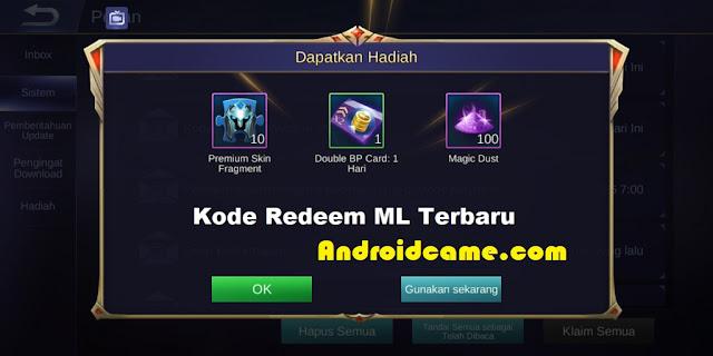 Tips Menukar Kode Redeen Pada Game Mobile Legends 2020 Terbaru