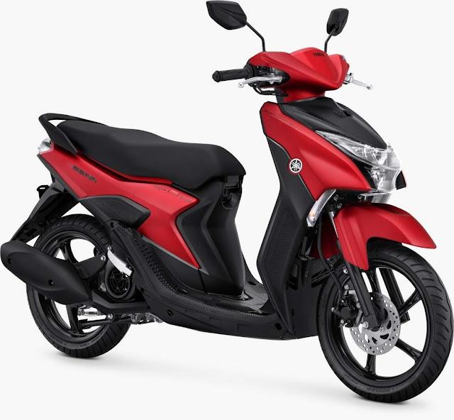 Yamaha Gear 125 Matte Red