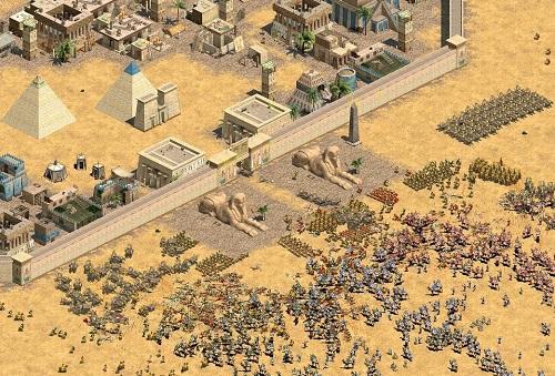 Dân Egyptian - Ai Cập chỉ trong trò chơi Đế chế
