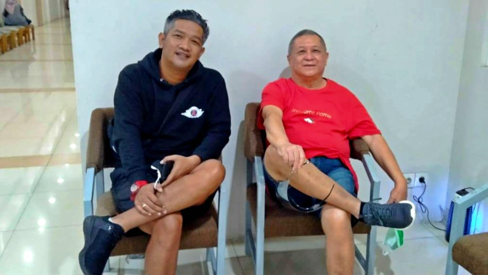 -Jendral Rich bersama Chossypratama, Musisi Legendaris Indonesia. (Dok. Istimewa)