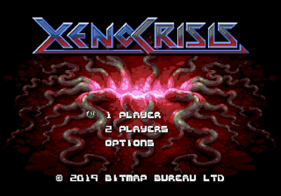 Xenocrisis is a new Sega Genesis game in 2019