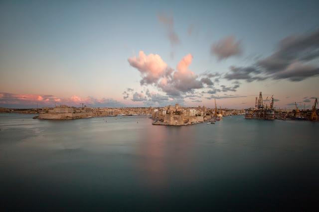 La Valletta-Tramonto