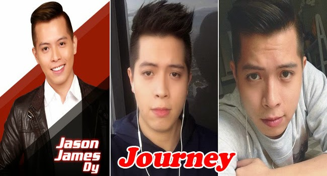 Top 4 Jason James Dy Journey to The Voice of the Philippines Season 2