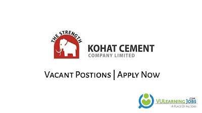 Kohat Cement Company Ltd Jobs In Pakistan May 2021 Latest | Apply Now