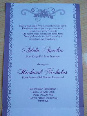 undangan nikah
