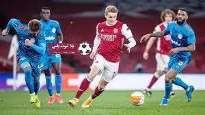 تقرير مباراة ارسنال وسلافيا ضمن مواجهات ربع نهائي يطولة الدوري الاوروبي