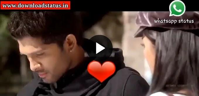 Allu Arjun Love Romantic Status Video Download For Whatsapp