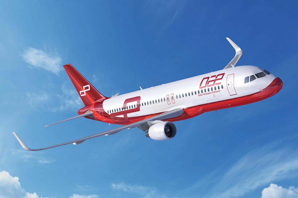 دبي لصناعات الطيران تؤجر 7 طائرات لشركة إنديغو