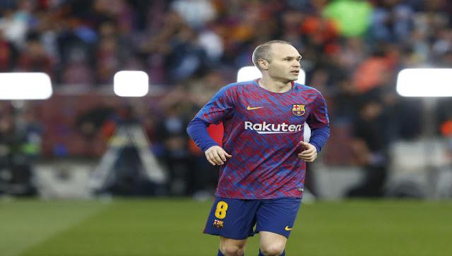 Vers un énorme revirement de situation pour Andrés Iniesta