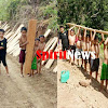 Anak-Anak Bangung Jembatan Gantung Bersama Satgas TMMD 105 Kodim 1424/Sinjai