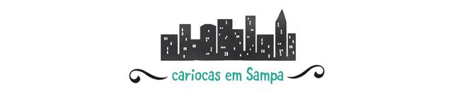 cariocas em Sampa logo