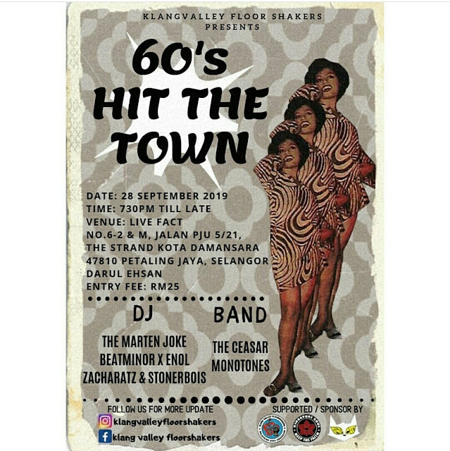 60'S HIT THE TOWN