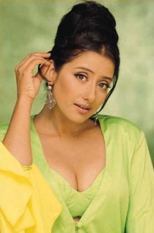 Valuable manisha koirala cleavage