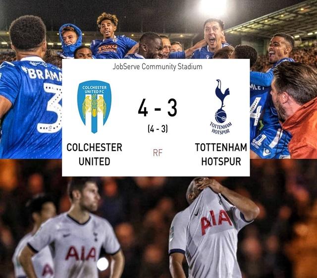 Colchester vs Tottenham - IG