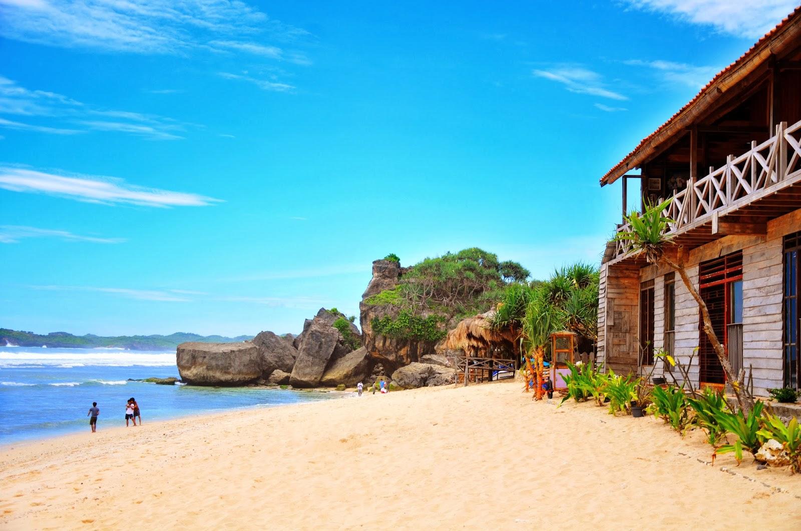 indrayanti beach of yogyakarta indonesia travel guide rh goindonesianow blogspot com hotel di pantai selatan jogja penginapan di pantai jogja murah
