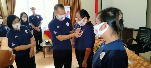 Pengendalian HIV AIDS di Gumas Sampai Tahun 2030, Three Zeroes