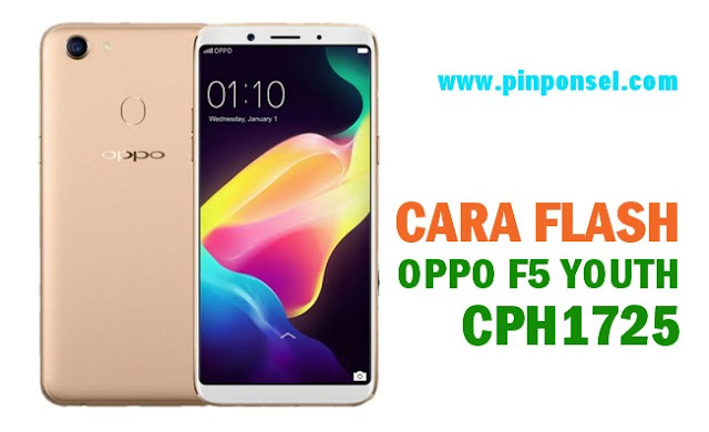 cara flash oppo f5 youth cph1725 tanpa pc via sc card