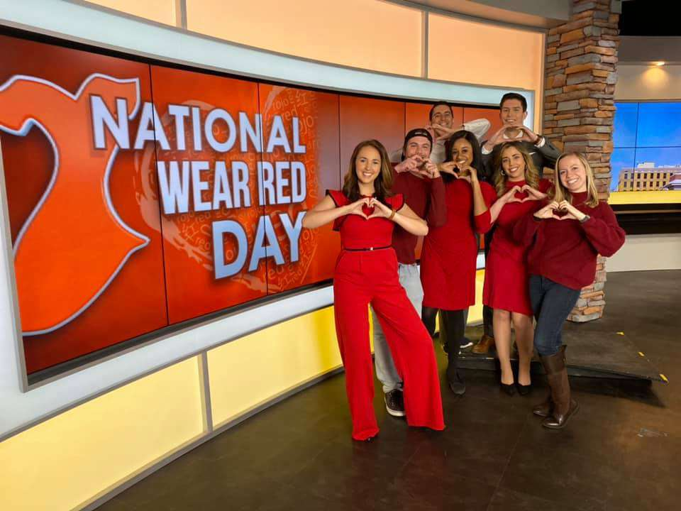 National Wear Red Day Wishes for Instagram