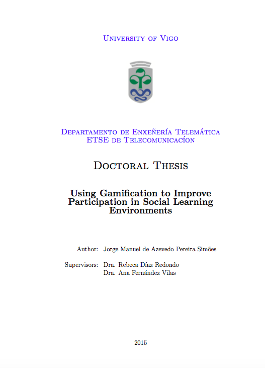 Online phd thesis in education