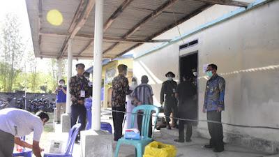 Bupati Way Kanan ikuti Video Conference Dalam Rangka Pemungutan Suara Pemilihan Kepala Kampung (Pilkakam)