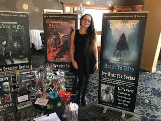 E.J. Stevens book signing convention events