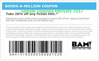 free Books A Million coupons for february 2017