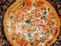 No. 012 - Ham and Broccoli Quiche