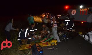 Um morto, duas pessoas gravemente feridas em colisão de Moto na BR 230