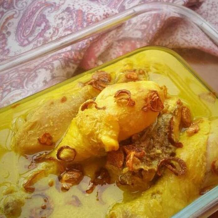 Resep sederhana Ayam bumbu kuning ala rumahan