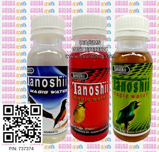 Tanoshii Magic Water adalah produk suplemen berkualitas yang sudah terbukti khasiatnya mampu meningkatkan kinerja burung pleci di arena lomba