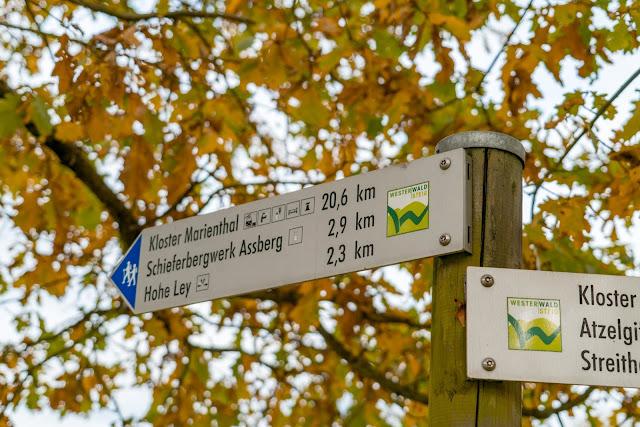 WesterwaldSteig 10. Etappe Limbach - Kloster Marienthal | Kroppacher Schweiz und Schieferbergwerk Assberg 05