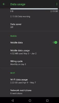 تتبع استخدام البيانات وتقليل إستهلاكها على هواتف الأندرويد