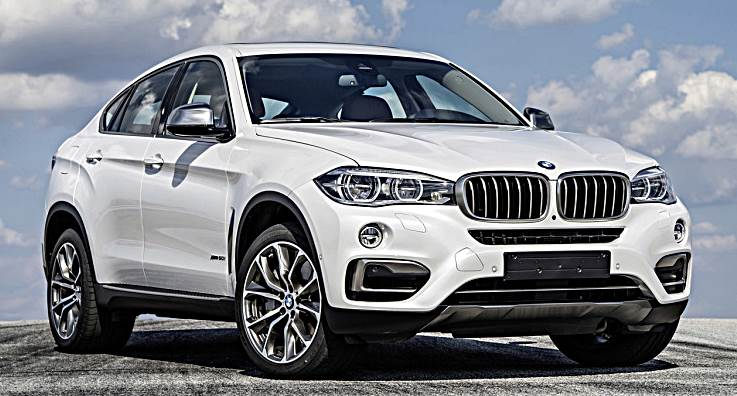 2017 Bmw X6 Front View