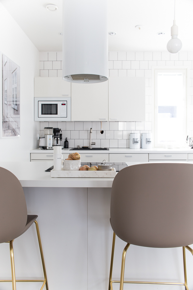 Villa H, lapetek liesituuletin, keittiö