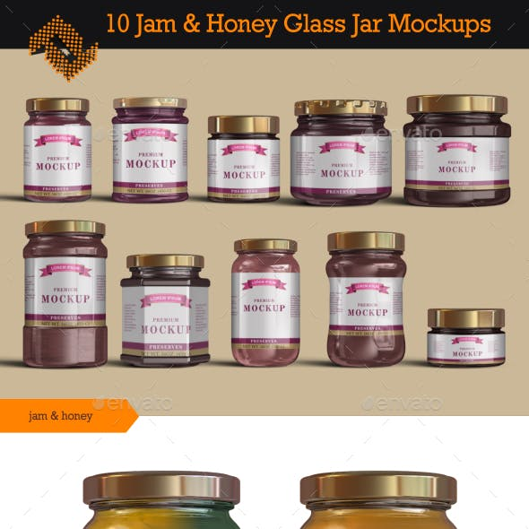 100 Best Jam Jar Mockup Templates Graphic Design Resources
