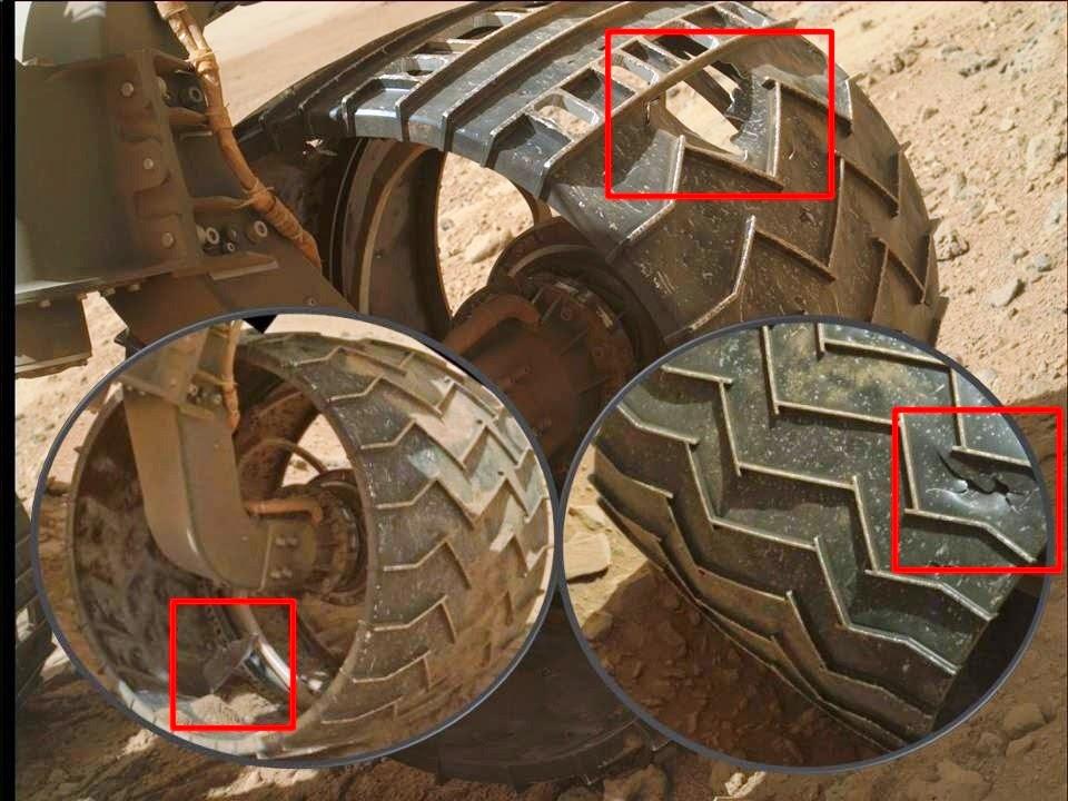Mars Rover Curiosity is falling apart? - June 10, 2014