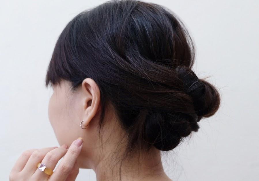 Hairstyle Tutorial: Formal Bun style