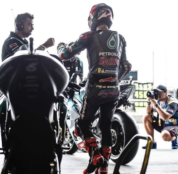 Fabio Quartararo Pole Position MotoGP Thailand 2019