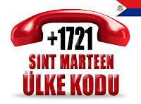 +1 721 Sint Maarten ülke telefon kodu