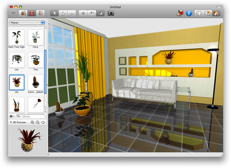 Free interior design software for mac os x for Interior design programs for mac