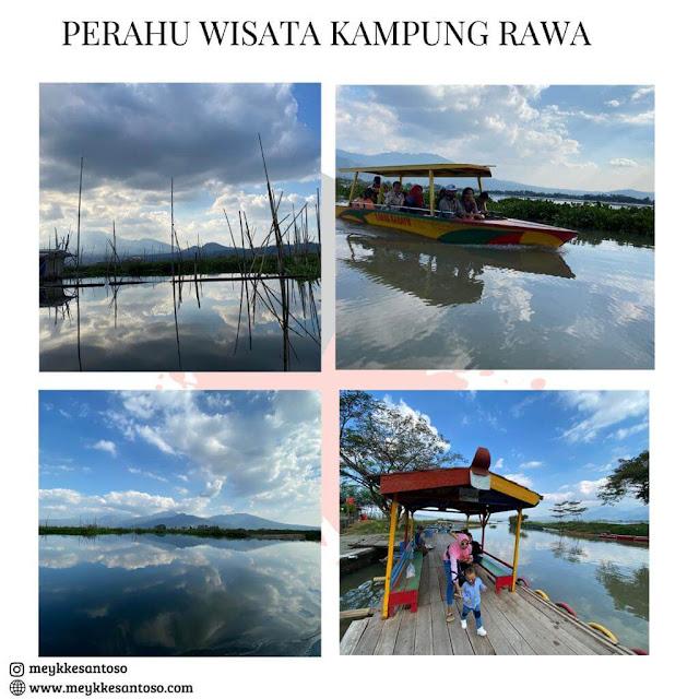 Perahu Wisata Kampung Rawa