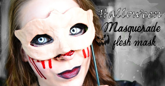 Halloween Blogparade - Masquerade flesh mask
