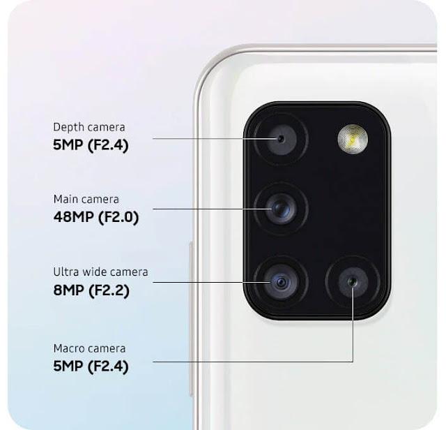 مميزات وعيوب Samsung Galaxy A31
