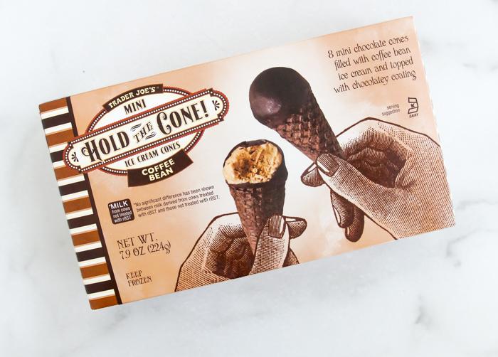 Trader Joe's Coffee Bean Mini Hold the Cone Ice Cream Cones review