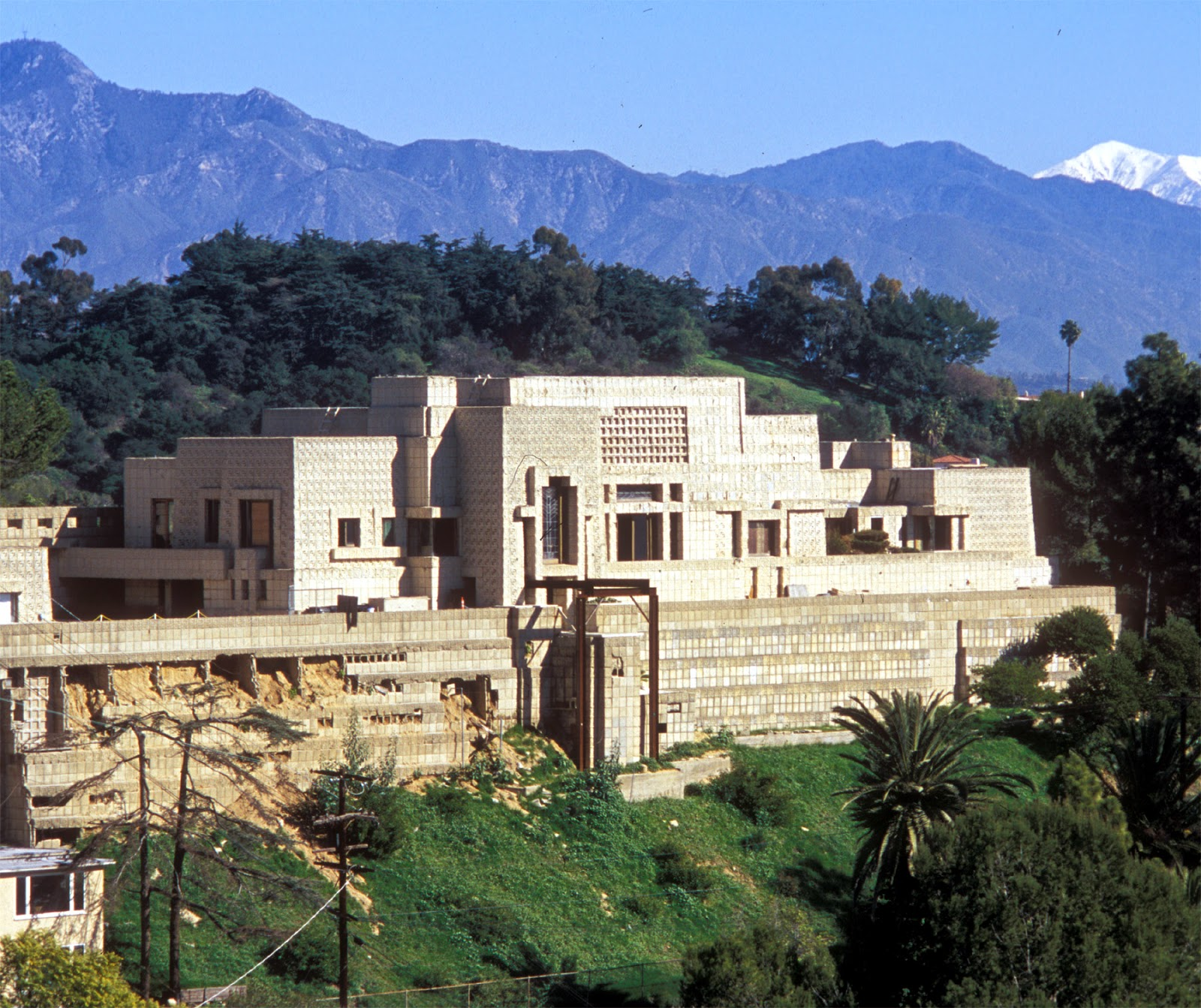 L A Houses: The Art Of Architecture: HOUSES 101: Ennis House