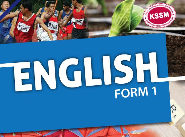 Download buku teks Bahasa Inggeris Tingkatan 1 KSSM PDF Online