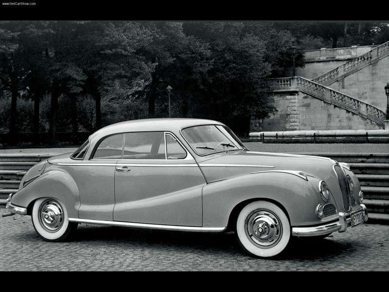 1954 bmw 502 cabriolet - photo #7