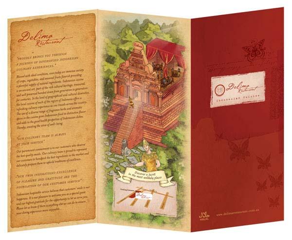 Restaurant Brochure Examples