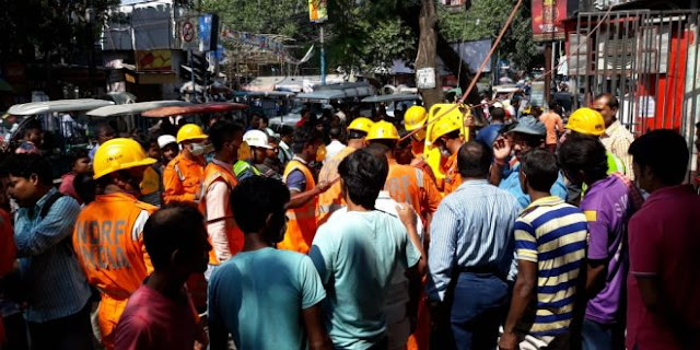 Mock Drill organised in Bidhan Market Siliguri